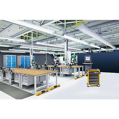 Lista Werkbank-Baukastensystem, Arbeitsplatte - Urphenbelag auf Spanmittellage