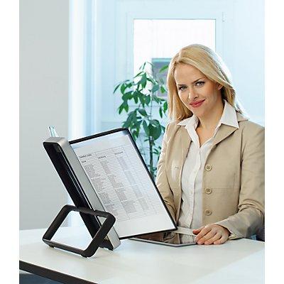 Tarifold, VEO Sichttafelsystem VEO für Format DIN A4 - Tischsystem - Ständer und 10 Sichttafeln