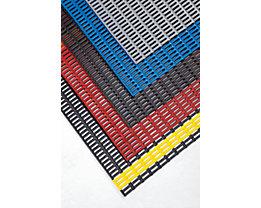 Tapis de sol - avec profilés creux à angle droit