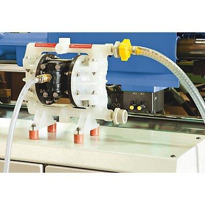 Lutz Druckluft-Doppelmembran-Pumpe - für Lösemittel, Farben, Benzin