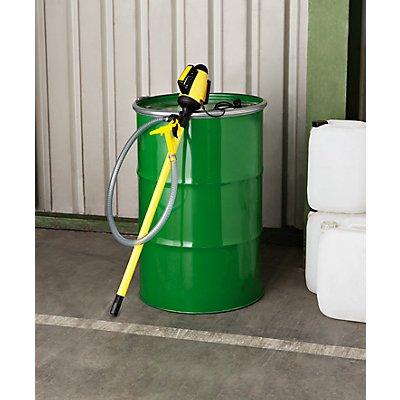 Lutz Behälterpumpen-Set, elektrische Pumpe inkl. Zubehör - Pumpwerk aus Niro (rostfreier Stahl) - Tauchtiefe 1000 mm