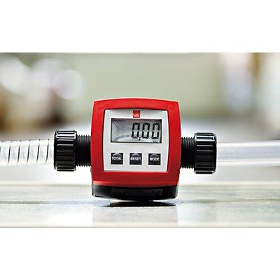Durchflussmengenzähler PP - Messbereich 5 bis 90 l/min - Betriebsdruck 2 bar, Anschluss G 1\,Durchflussmengenzähler PP - Messbereich 5 bis 90 l/min - Betriebsdruck 2 bar