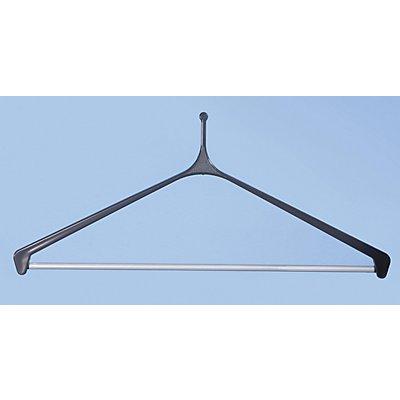 Kleiderbügel - aus Kunststoff mit Hosenstange - VE 10 Stk