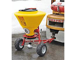 CEMO Streuwagen - für große Streuflächen, 130 Liter