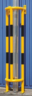Rammschutz für Rohre - Wand-Bodenmontage