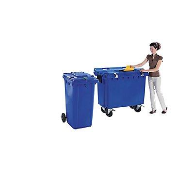 SSI Schäfer Dokumentensammelbehälter, Einwurfschlitz 400 x 30 mm, Volumen 660 l