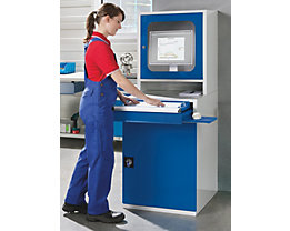 QUIPO PC Schrank Industrie - HxBxT 1600 x 600 x 695 mm