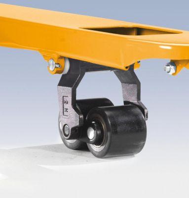 QUIPO Paletthubwagen, melonengelb - Tragfähigkeit 3000 kg