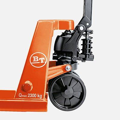 Paletthubwagen von TOYOTA - BT-Lifter mit QuickLift-Hydraulikeinheit - Räder Polyurethan