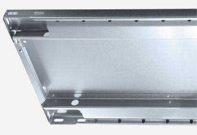 EUROKRAFT Steckregal, einreihig - Fachboden-BxT 1300 x 600 mm