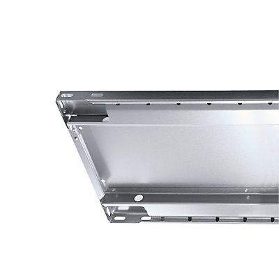 EUROKRAFT Steckregal, doppelreihig - Fachboden-BxT 1000 x (2 x 500) mm