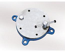 KANCA Drehteller - für Schraubstock - für Backenbreite 100 mm