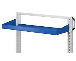 ANKE Wannenboden - Aufkantung 75 mm - BxT 800 x 250 mm, blau