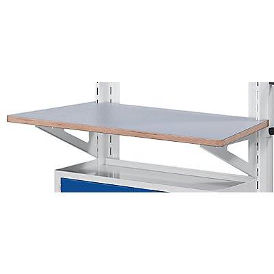 Universal-Arbeitsplatte - zum Einhängen - für Wagen Breite 800 mm