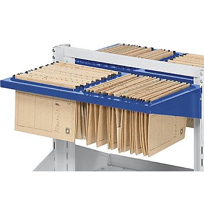 ANKE Hängeregistratur - BxT 800 x 400 mm - enzianblau
