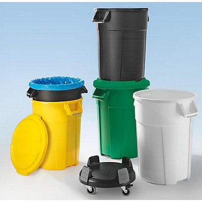 rothopro Multifunktionsbehälter aus Kunststoff - Volumen 120 l