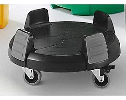 Châssis roulant - pour conteneur multi-fonctions - hauteur x Ø 220 x 470 mm