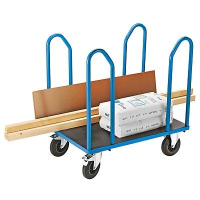 EUROKRAFT Seitenbügelwagen mit 4 Seitenbügeln - Tragfähigkeit 500 kg