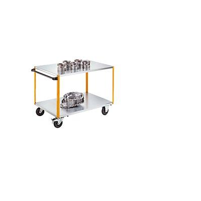 QUIPO Montagewagen - mit anklickbarem Schiebegriff, Tragfähigkeit 350 kg