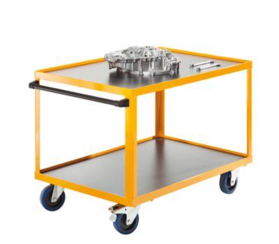QUIPO Montagewagen - mit anklickbarem Schiebegriff