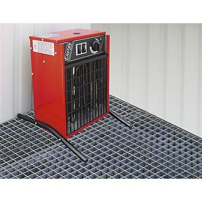 Umluft-Heizung, für Höhe außen 2400 mm, nicht ex-geschützt, Mehrpreis