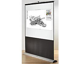 magnetoplan® Lichtbildwand, mobil - Format 4 : 3