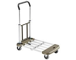 Chariot plate-forme pliant en aluminium - force 150 kg