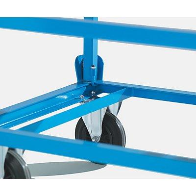 Aufsetzrahmen - für Fahrgestell 1200 x 800 mm - lichtblau