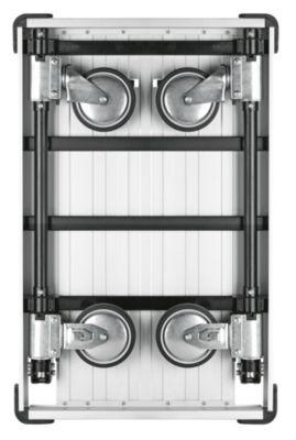 Alu-Plattformwagen SLIMLINE - komplett einklappbar