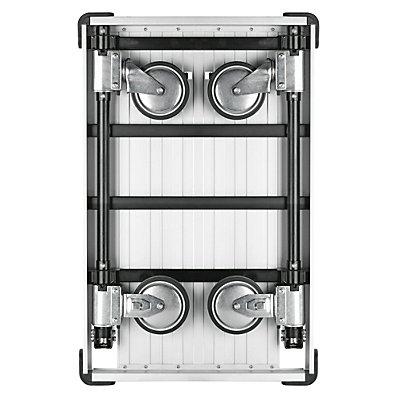 Alu-Plattformwagen SLIMLINE - komplett einklappbar - Tragfähigkeit 150 kg