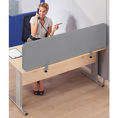 cloisons acoustiques modulaires premium panneau de bureau hauteur 450 mm. Black Bedroom Furniture Sets. Home Design Ideas
