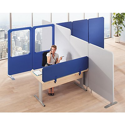 cloisons acoustiques modulaires premium panneau vitr hauteur 1800 mm. Black Bedroom Furniture Sets. Home Design Ideas