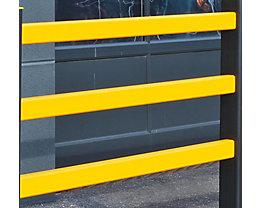 Holm für Sicherheitsgeländer - BxH 50 x 75 mm, VE 3 Stk