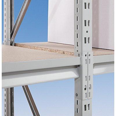 Auflageträger für Stützrahmen, Schwerlastregal - Nasen-Rohr, Profil 60 x 30 mm