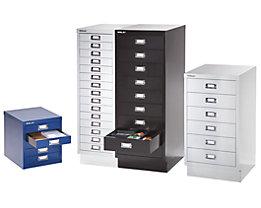 Bisley Armoire à tiroirs - 6 tiroirs pour format A3