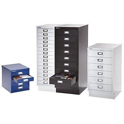 Bisley Schubladenschrank - 15 Schubladen für Format DIN A4