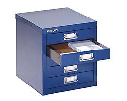 Bisley Armoire à tiroirs - 5 tiroirs pour format A4