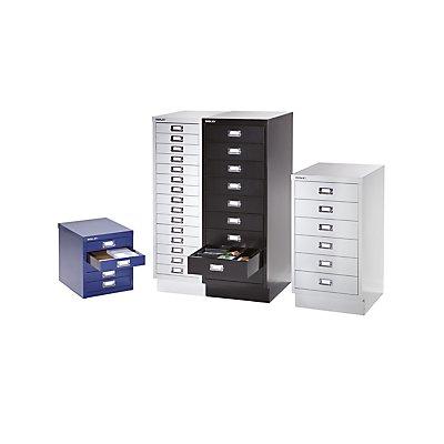 Bisley Schubladenschrank - 9 Schubladen für Format DIN A3