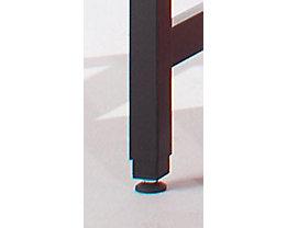 LEGRO Höhenverstellung - für Packtisch PROFI LINE - Verstellbereich 0 – 300 mm, 4-teilig