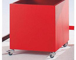 Rollbehälter - HxBxT 600 x 600 x 650 mm