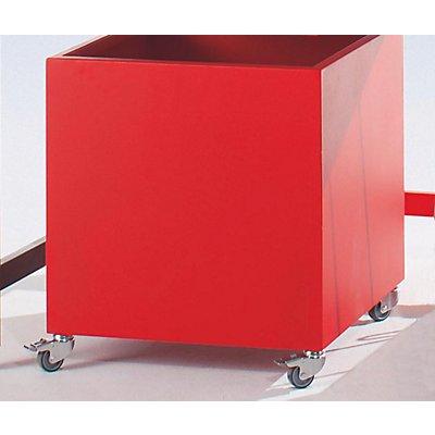 LEGRO Rollbehälter - HxBxT 600 x 600 x 650 mm - fahrbar / Untertisch