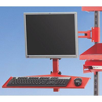 Gelenkarm - für TFT, Tastatur und Maus - HxLxB 600 x 650 x 600 mm