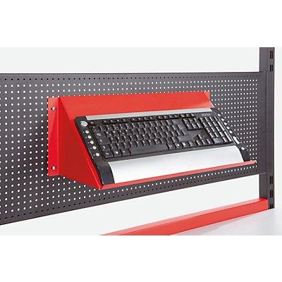 LEGRO Tastaturablage - HxBxT 250 x 400 x 180 mm - für Lochplatte
