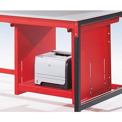 LEGRO Auszugslade - HxBxT 650 x 500 x 600 mm - für Laserdrucker
