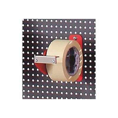Klebeband-Abroller für Lochwand-Adaption - HxBxT 150 x 60 x 190 mm - 50 mm