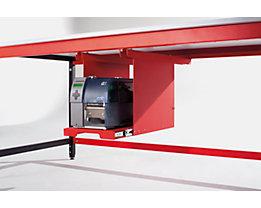 LEGRO Auszugslade - HxBxT 450 x 320 x 600 mm - für Labelprinter