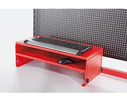 LEGRO Tischelement für Tastatur und Maus - HxBxT 250 x 600 x 250 mm - höhenverstellbar