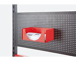 Ablageschale - HxBxT 120 x 250 x 140 mm - für Lieferscheintasche