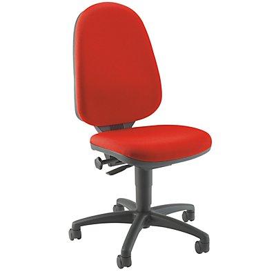 Topstar Standard-Drehstuhl - ohne Armlehnen, Rückenlehne 550 mm