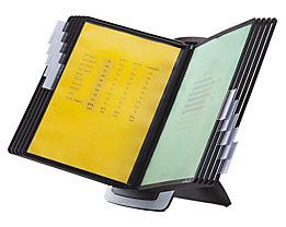 Durable Tischständer-Set SHERPA STYLE - 10 Klarsichttafeln DIN A4